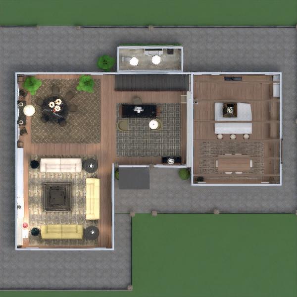 floorplans casa terraza muebles decoración bricolaje cuarto de baño dormitorio salón garaje cocina exterior habitación infantil despacho iluminación paisaje hogar comedor arquitectura trastero estudio descansillo 3d