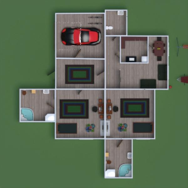 floorplans дом мебель ванная спальня гостиная 3d