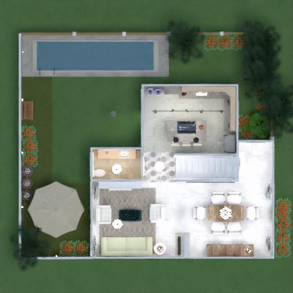 floorplans namas terasa baldai dekoras vonia miegamasis svetainė virtuvė eksterjeras biuras apšvietimas renovacija kraštovaizdis namų apyvoka kavinė valgomasis аrchitektūra sandėliukas studija prieškambaris 3d