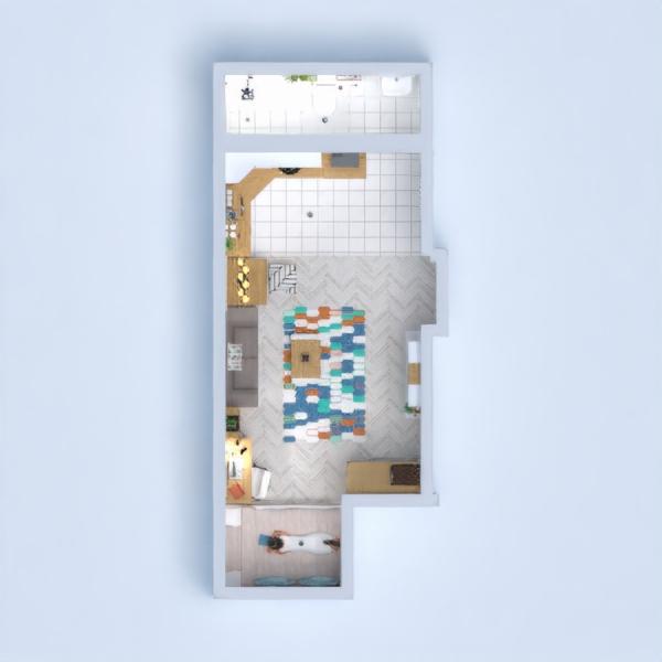 floorplans mobílias faça você mesmo quarto cozinha estúdio 3d