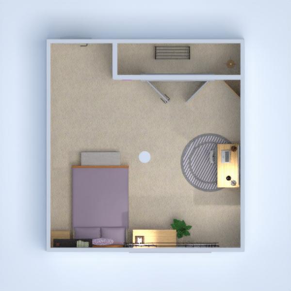 floorplans muebles decoración dormitorio habitación infantil 3d