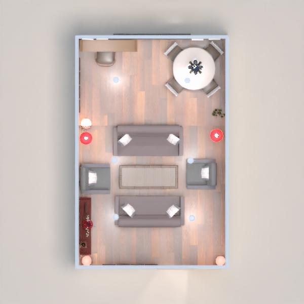planos apartamento comedor 3d