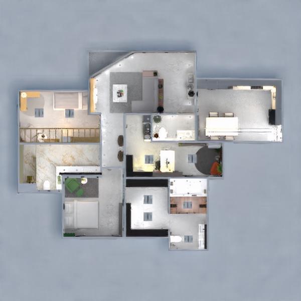 floorplans apartamento decoración iluminación reforma 3d