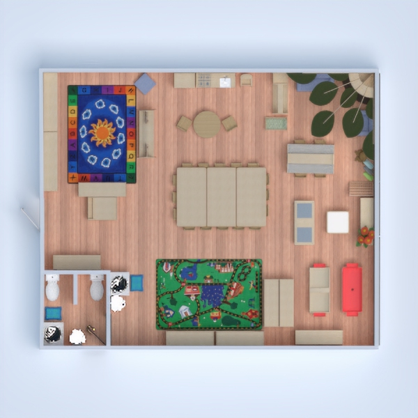 floorplans cameretta studio 3d