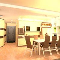 floorplans wohnung mobiliar badezimmer schlafzimmer wohnzimmer küche beleuchtung esszimmer lagerraum, abstellraum studio eingang 3d