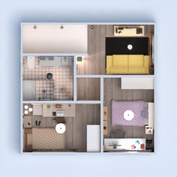 floorplans namas dekoras pasidaryk pats miegamasis biuras 3d