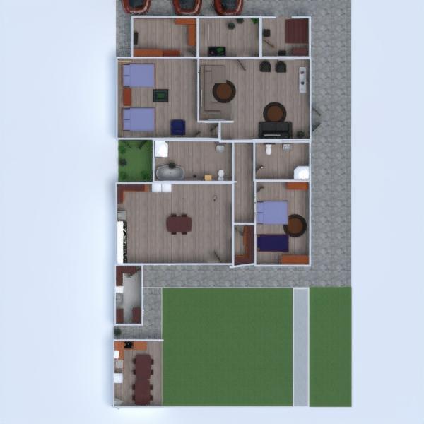 floorplans casa casa de banho 3d