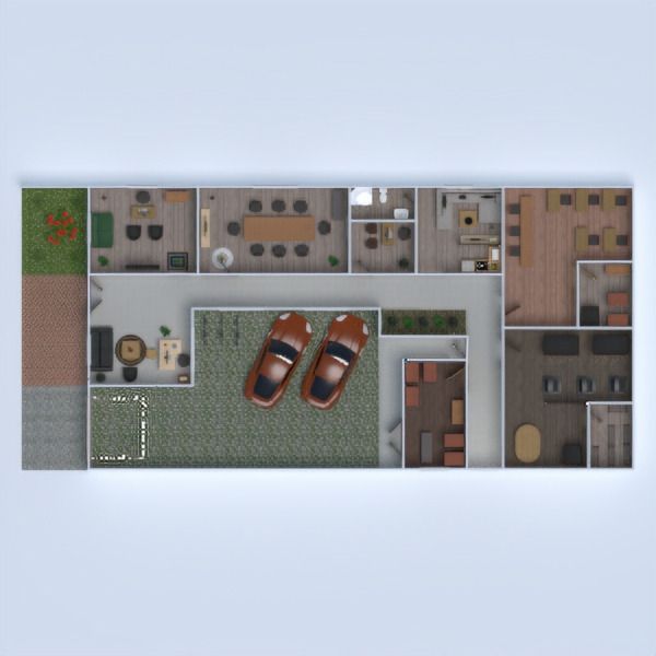 floorplans despacho arquitectura trastero descansillo 3d