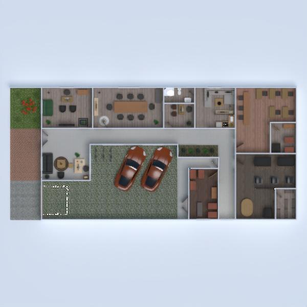 floorplans bureau architecture espace de rangement entrée 3d