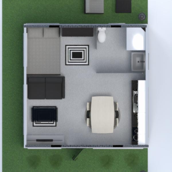 floorplans apartamento casa utensílios domésticos estúdio 3d