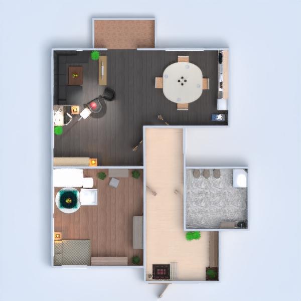 планировки квартира ванная спальня гостиная кухня 3d