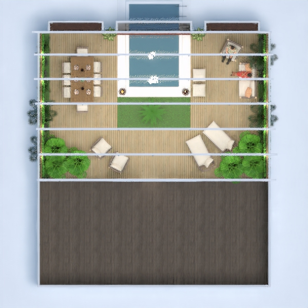 floorplans decorazioni paesaggio architettura 3d