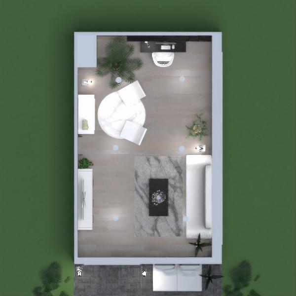floorplans svetainė biuras 3d