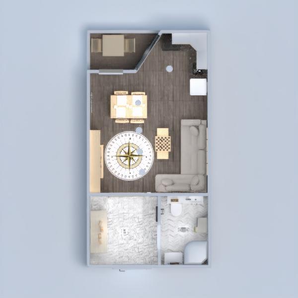 планировки квартира декор ванная гостиная студия 3d