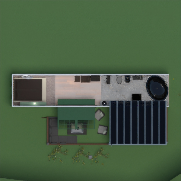 floorplans casa muebles paisaje arquitectura 3d