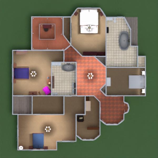 floorplans casa saggiorno famiglia vano scale 3d