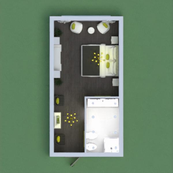 floorplans cuarto de baño dormitorio iluminación 3d