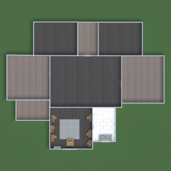 floorplans dekor kinderzimmer büro lagerraum, abstellraum 3d