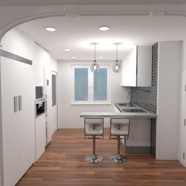floorplans decoración cuarto de baño dormitorio salón cocina 3d