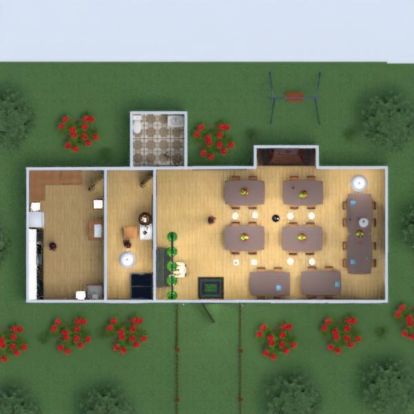 floorplans diy kitchen cafe dining room 3d