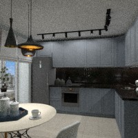floorplans apartment furniture decor kitchen lighting dining room 3d