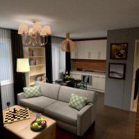 планировки квартира спальня кухня детская столовая студия 3d
