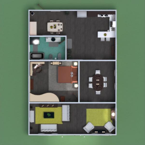 floorplans dom meble wystrój wnętrz zrób to sam łazienka pokój dzienny kuchnia oświetlenie gospodarstwo domowe jadalnia architektura przechowywanie wejście 3d