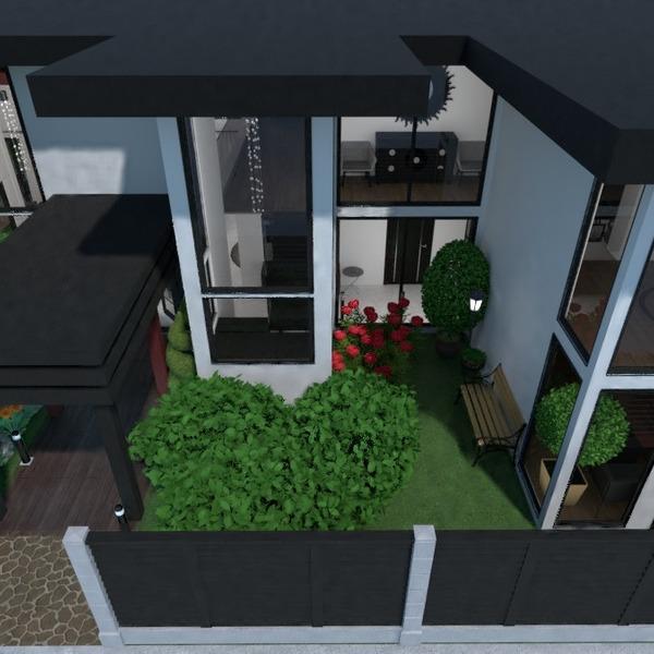 планировки дом мебель спальня гостиная 3d