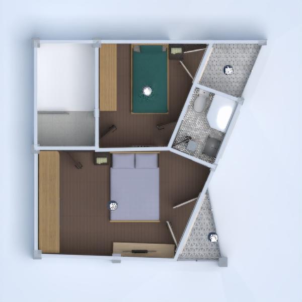 floorplans haus terrasse dekor garage küche 3d