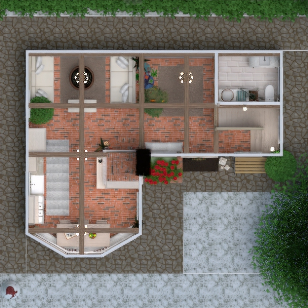 floorplans apartment house furniture decor diy bathroom bedroom living room kitchen kids room lighting household architecture storage 3d