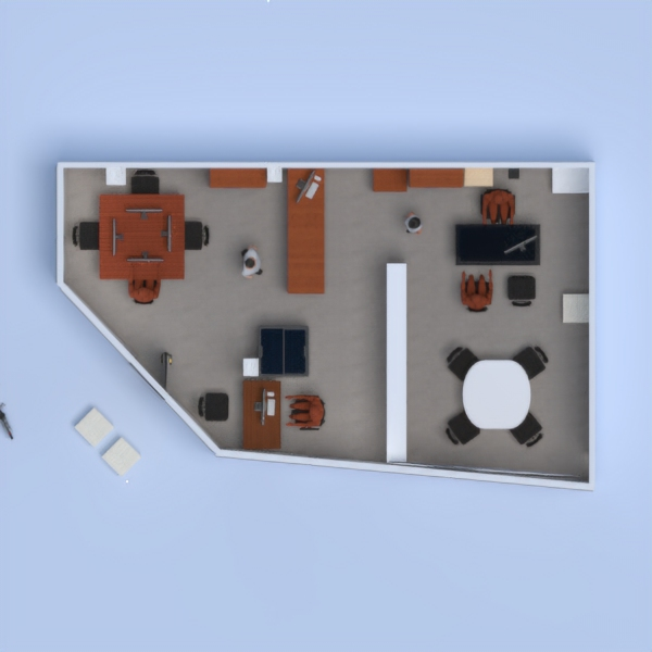 floorplans office renovation studio 3d