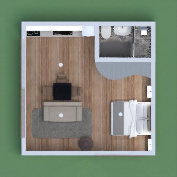 floorplans namas vonia miegamasis svetainė 3d