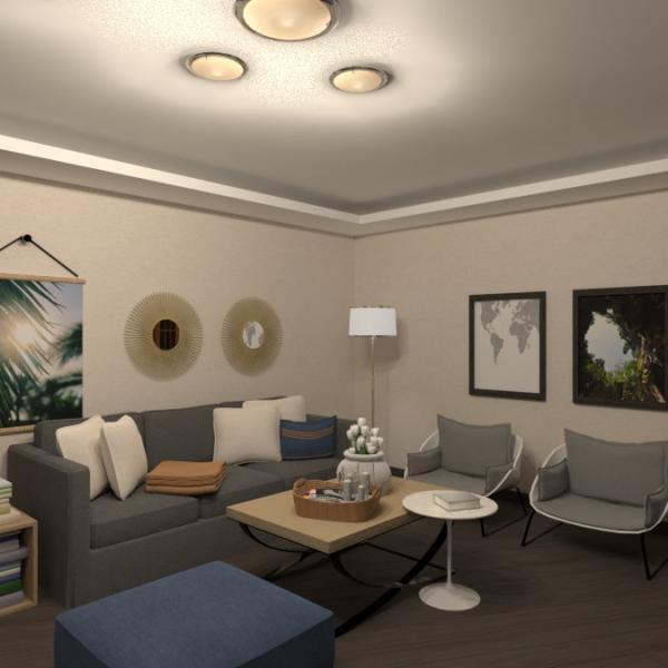 floorplans appartement meubles chambre à coucher salon studio 3d