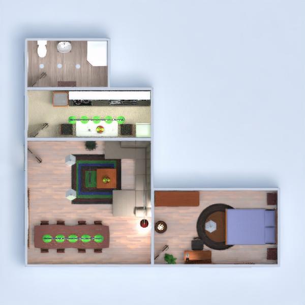 floorplans дом терраса мебель 3d