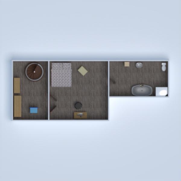 floorplans namas miegamasis svetainė vaikų kambarys biuras 3d