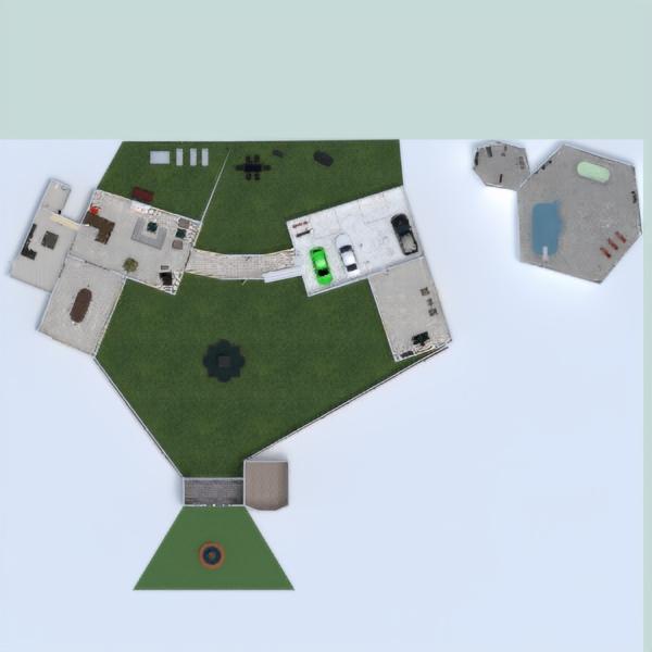 floorplans casa muebles decoración dormitorio salón 3d