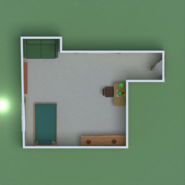 floorplans meubles décoration chambre à coucher chambre d'enfant bureau 3d