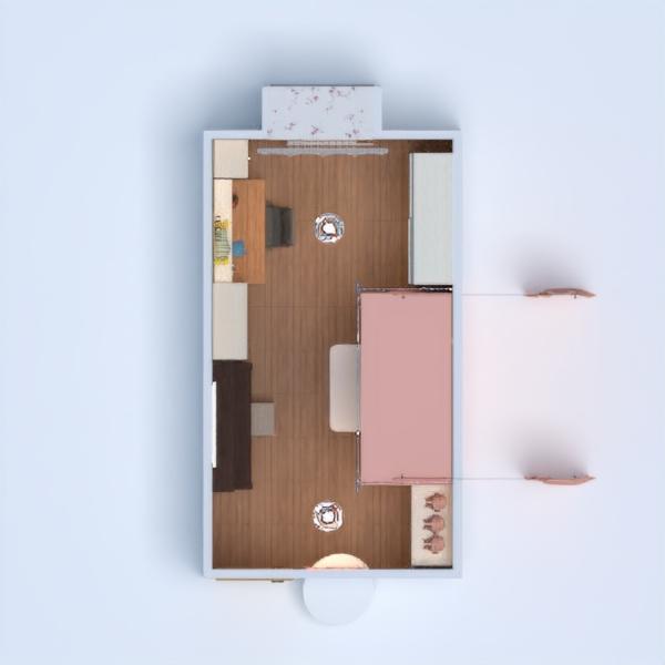 floorplans appartamento casa arredamento decorazioni angolo fai-da-te camera da letto cameretta illuminazione rinnovo monolocale 3d