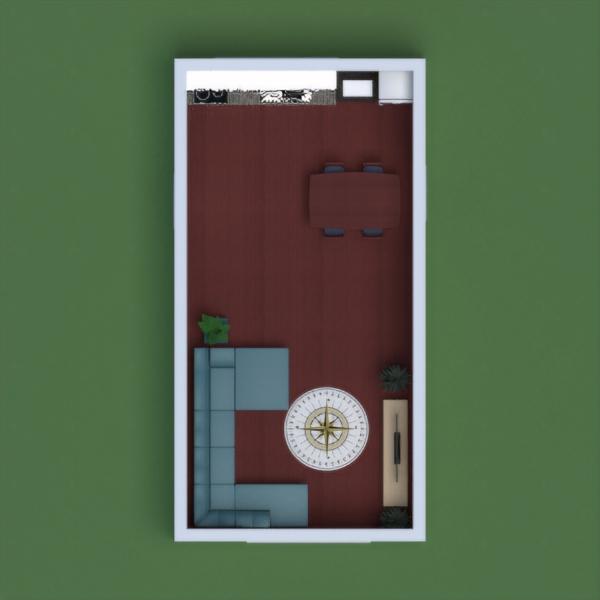 floorplans maison meubles eclairage salle à manger architecture 3d