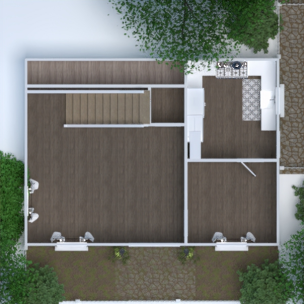 floorplans house terrace furniture bathroom bedroom living room kitchen outdoor renovation landscape household dining room architecture storage entryway 3d