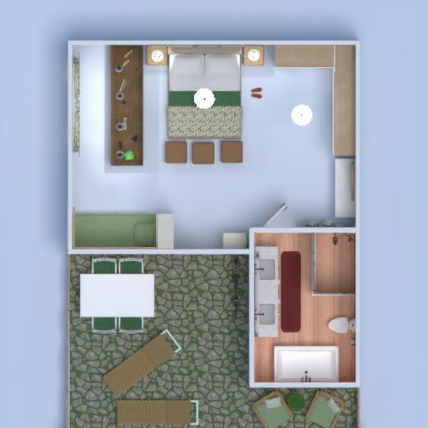 floorplans apartamento varanda inferior mobílias decoração faça você mesmo casa de banho dormitório quarto cozinha escritório iluminação reforma utensílios domésticos sala de jantar arquitetura despensa estúdio patamar 3d