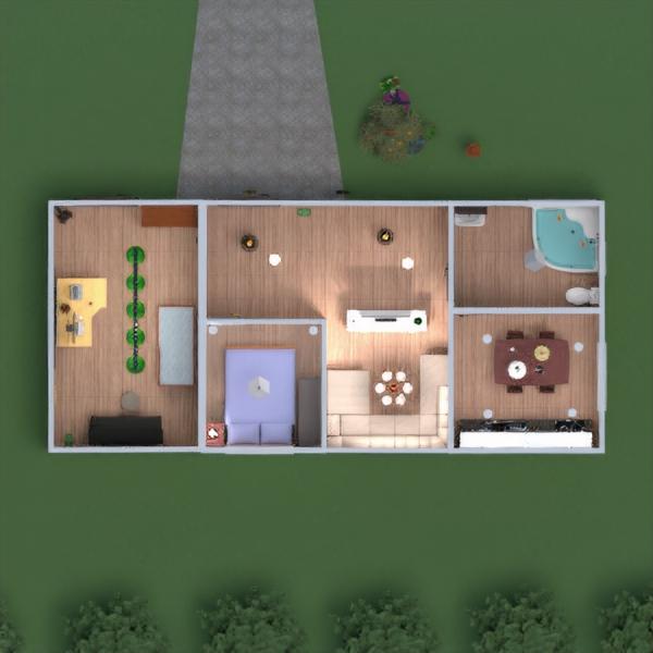 floorplans dom meble wystrój wnętrz łazienka sypialnia pokój dzienny kuchnia na zewnątrz pokój diecięcy oświetlenie jadalnia 3d