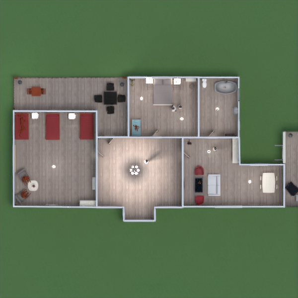 floorplans house bedroom living room kids room dining room 3d