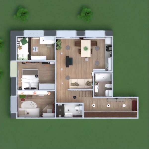 floorplans appartement maison meubles décoration diy salle de bains chambre à coucher salon cuisine chambre d'enfant eclairage rénovation maison café salle à manger architecture espace de rangement studio entrée 3d