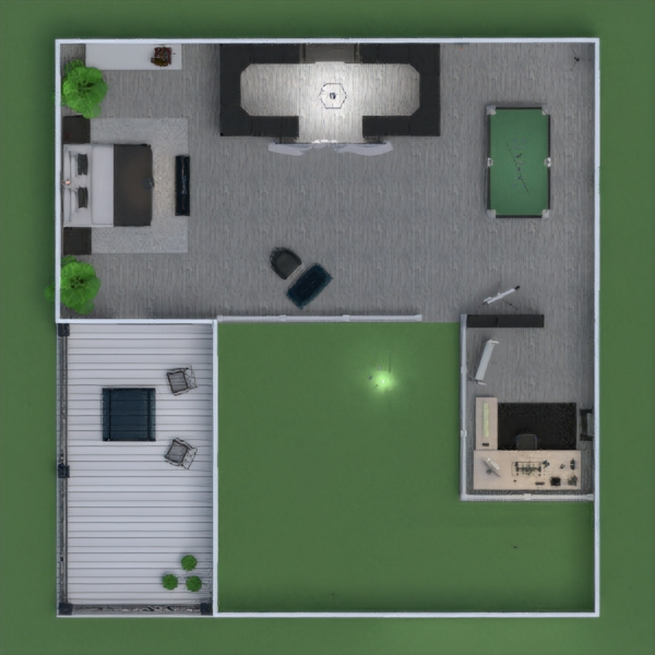 floorplans casa decoração garagem utensílios domésticos arquitetura 3d