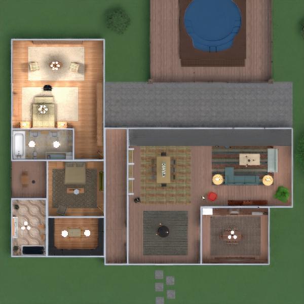 floorplans casa terraza muebles decoración bricolaje cuarto de baño dormitorio salón cocina exterior comedor arquitectura 3d