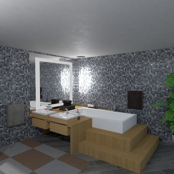 планировки декор ванная 3d