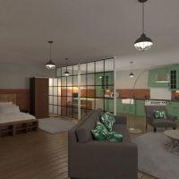 floorplans butas baldai dekoras pasidaryk pats vonia miegamasis svetainė virtuvė apšvietimas 3d