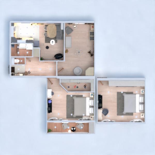 floorplans appartement meubles décoration diy 3d