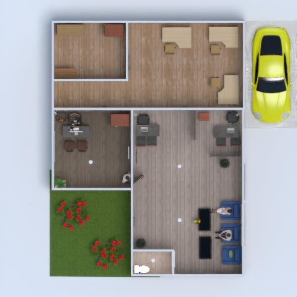 floorplans diy office 3d